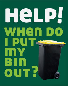 Help when do I put my bin out?