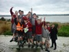 Group photo of James Hargest College SSC Students at Pleasure Bay Reserve