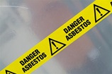 Sign for Asbestos