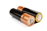 Two AA pencil batteries