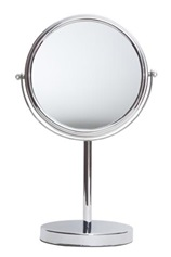 Freestanding bathroom mirror